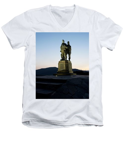 The Commando Memorial Men's V-Neck T-Shirt