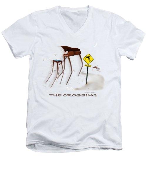 The Crossing Se Men's V-Neck T-Shirt