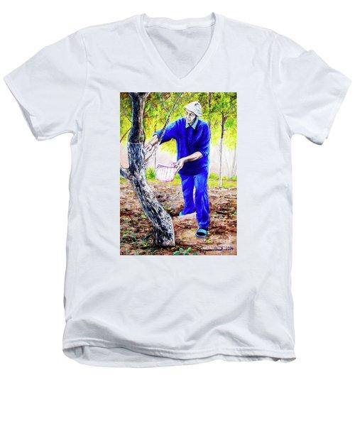 The Cure - La Cura Men's V-Neck T-Shirt