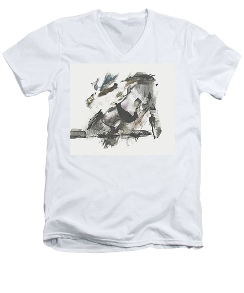 The Dancer Men's V-Neck T-Shirt