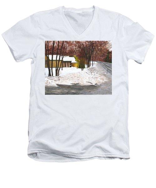 The Day After Men's V-Neck T-Shirt