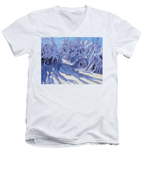 The Day After The Storm Men's V-Neck T-Shirt