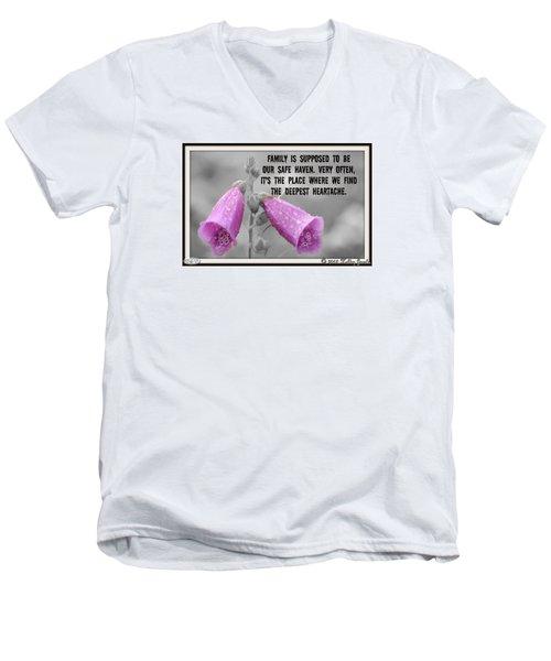 The Deepest Heartache Men's V-Neck T-Shirt