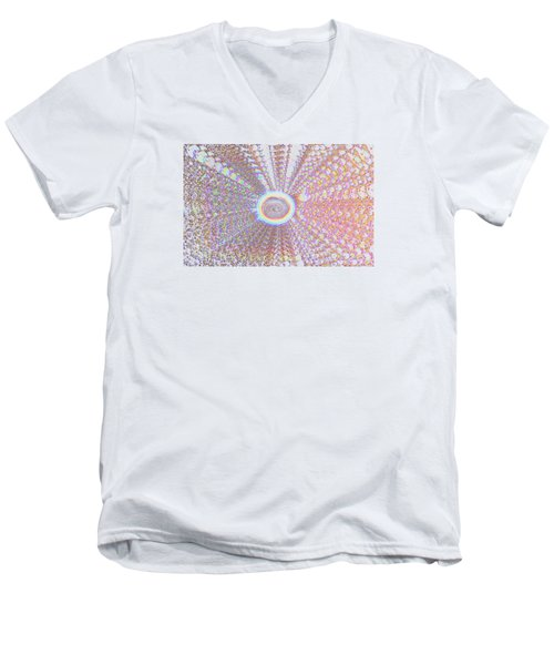 The Divine Light   Men's V-Neck T-Shirt