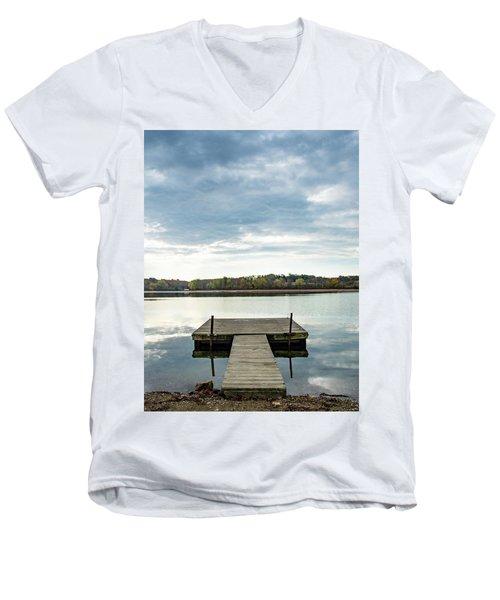 The Dock Men's V-Neck T-Shirt