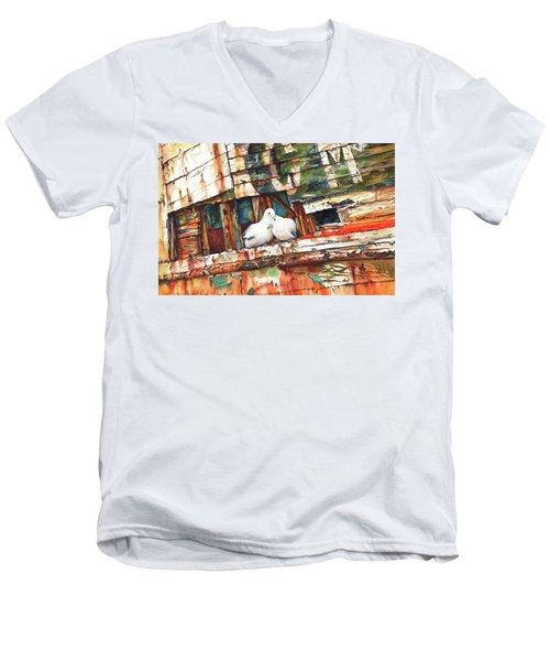 The Dove Boat Men's V-Neck T-Shirt