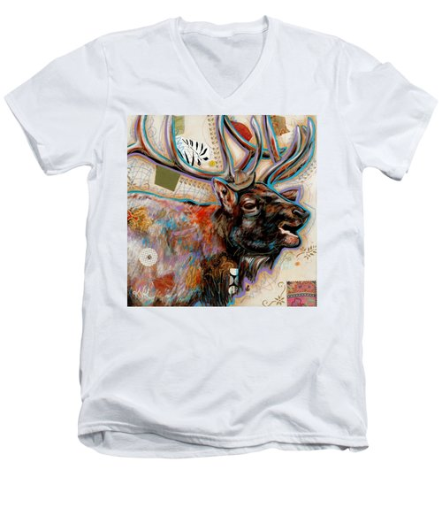 The Elk Men's V-Neck T-Shirt