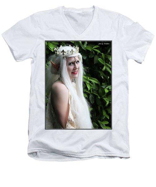 The Elven Queen Men's V-Neck T-Shirt