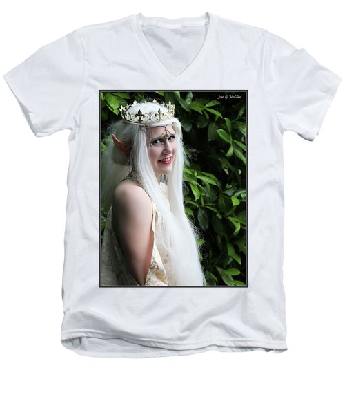 The Elven Queen Men's V-Neck T-Shirt