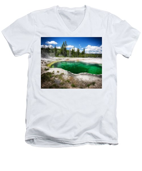 The Emerald Eye Men's V-Neck T-Shirt