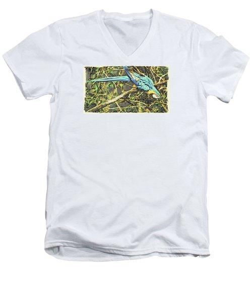 The Enchanted Jungle Men's V-Neck T-Shirt