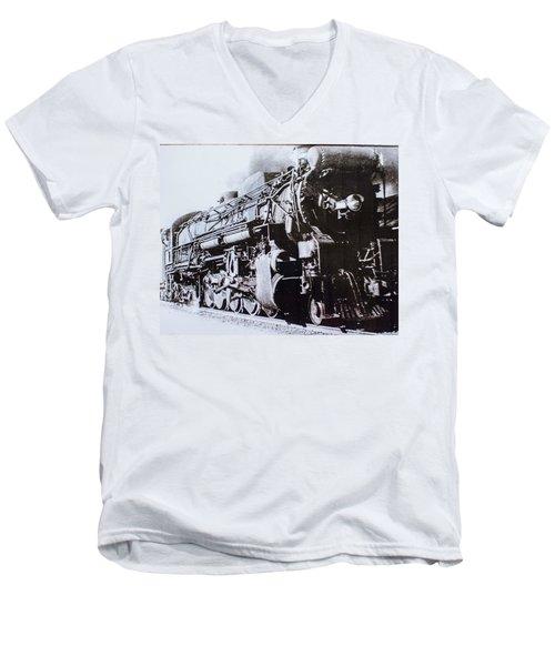 The Engine  Men's V-Neck T-Shirt