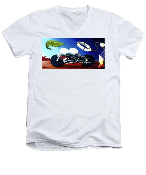The Escape Men's V-Neck T-Shirt