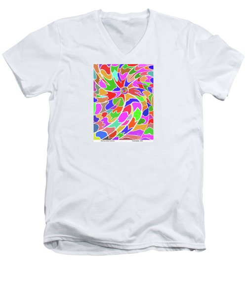The Eye Of The Universe Men's V-Neck T-Shirt
