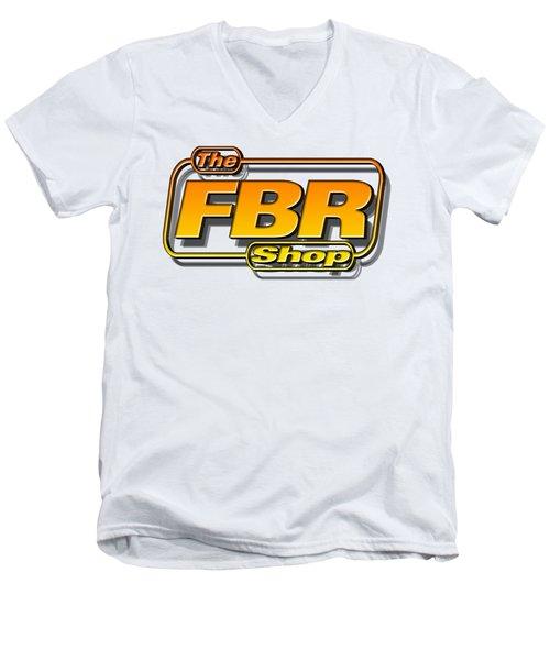 The Fbr Shop 001 Men's V-Neck T-Shirt