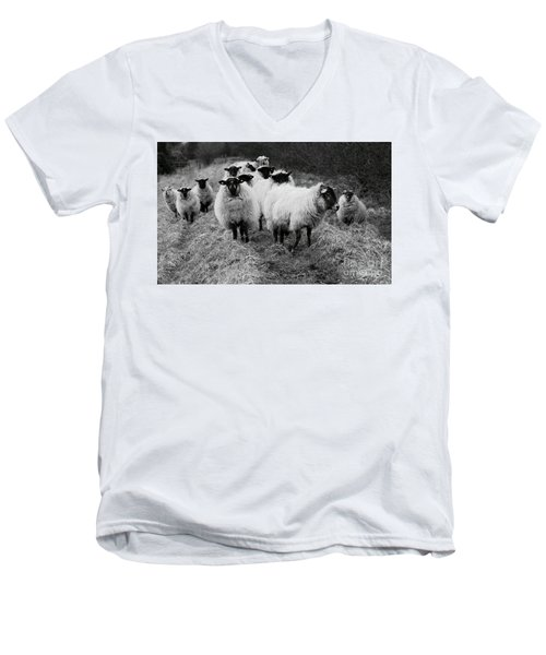 The Flock 1 Men's V-Neck T-Shirt