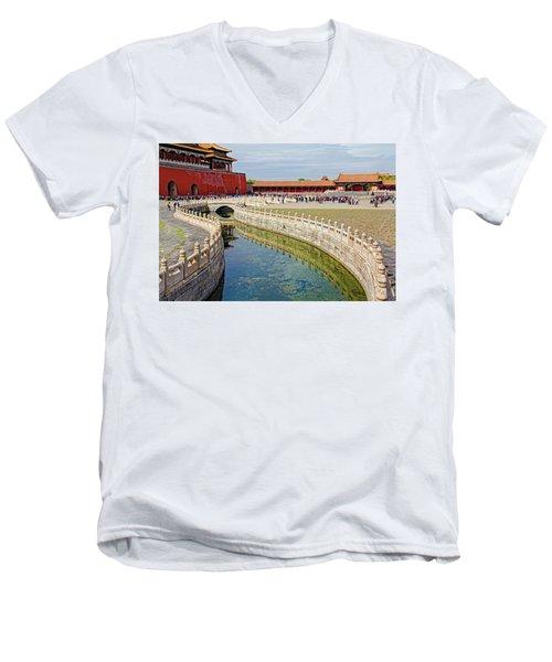 The Forbidden City Men's V-Neck T-Shirt