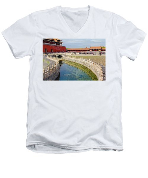 The Forbidden City Men's V-Neck T-Shirt