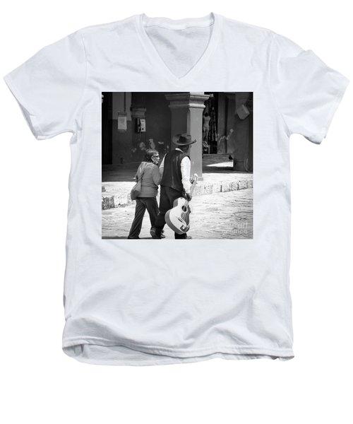 The Gig Is Over Men's V-Neck T-Shirt