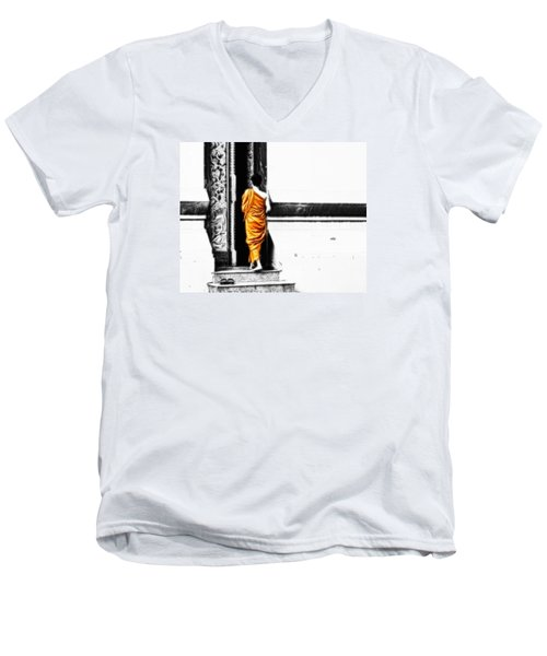 The Gilded Monk Men's V-Neck T-Shirt