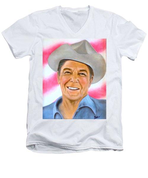 The Gipper Men's V-Neck T-Shirt