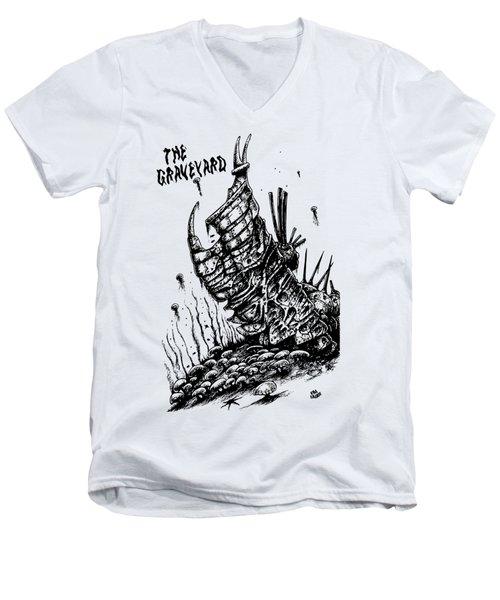 The Graveyard Men's V-Neck T-Shirt