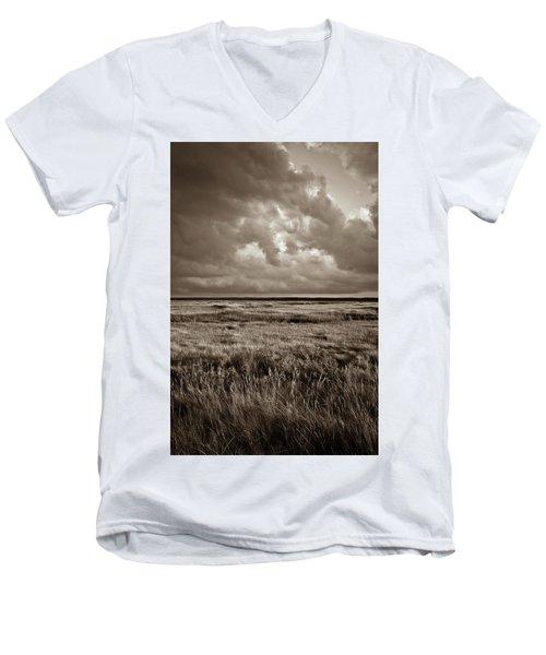 The Great Marsh Men's V-Neck T-Shirt