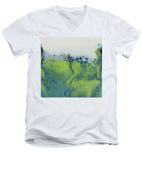 The Green Tides Men's V-Neck T-Shirt