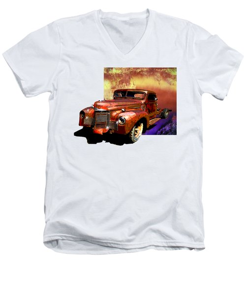 The Harvester Men's V-Neck T-Shirt