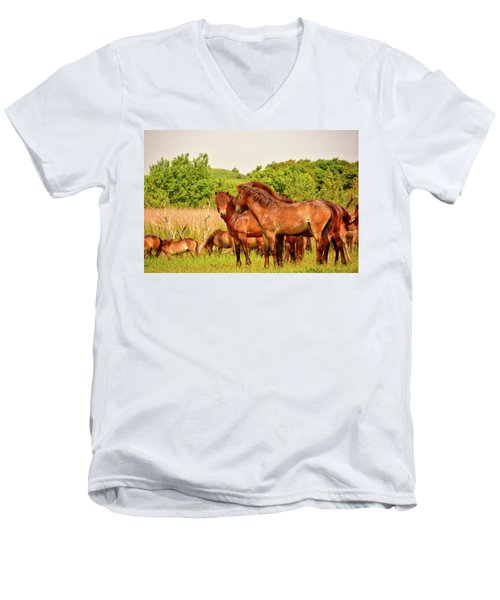 The Herd 2 Men's V-Neck T-Shirt