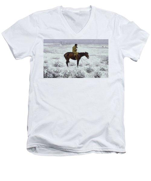 The Herd Boy Men's V-Neck T-Shirt