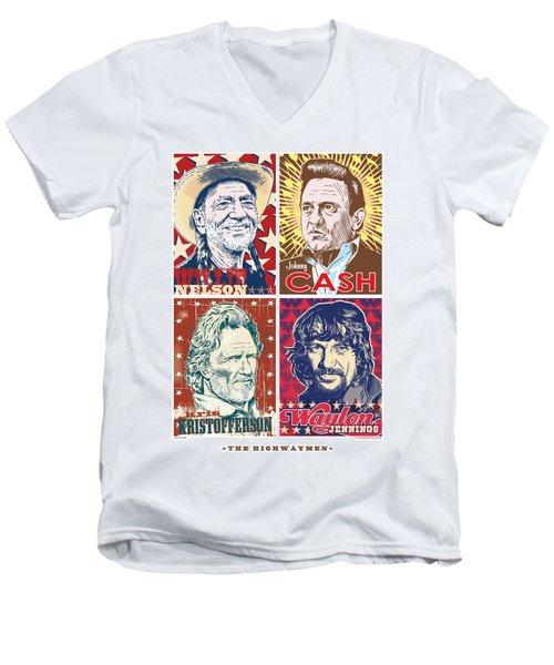 The Highwaymen Men's V-Neck T-Shirt