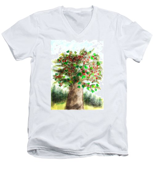The Holy Oak Tree Men's V-Neck T-Shirt