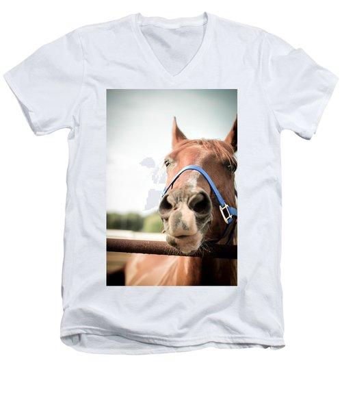 The Horse's Mouth Men's V-Neck T-Shirt