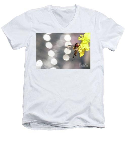 The Hoverfly Men's V-Neck T-Shirt