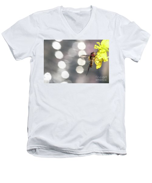 The Hoverfly Men's V-Neck T-Shirt