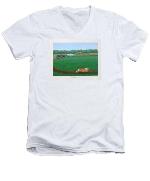 The Impostor I Men's V-Neck T-Shirt