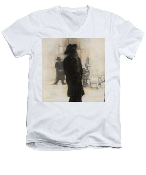 The Incongruity Of It All  Men's V-Neck T-Shirt