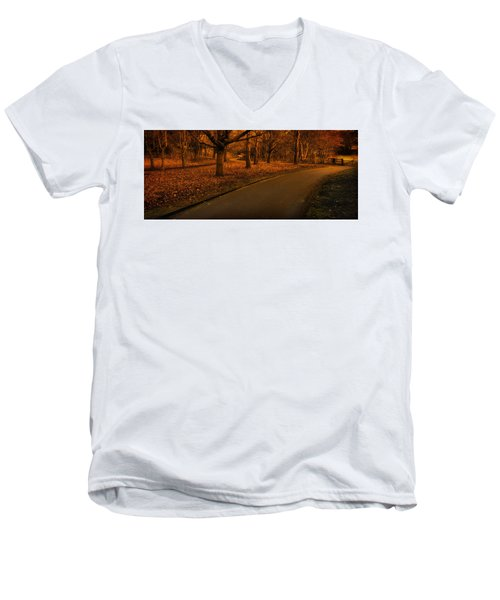 The Innocent Railway Path Men's V-Neck T-Shirt