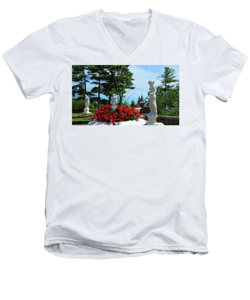 The Italian Garden Men's V-Neck T-Shirt