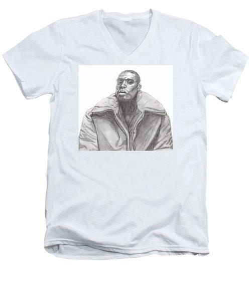 The Jacket Men's V-Neck T-Shirt