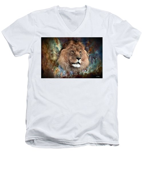 The King Men's V-Neck T-Shirt by Bill Stephens