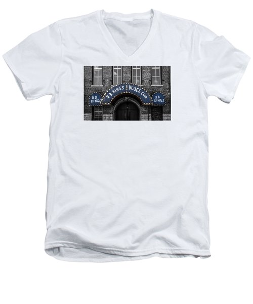 Men's V-Neck T-Shirt featuring the photograph The King's Club by Ray Congrove