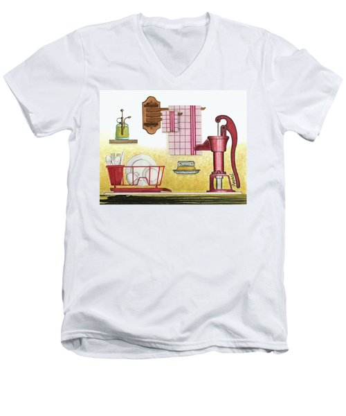The Kitchen Sink Men's V-Neck T-Shirt