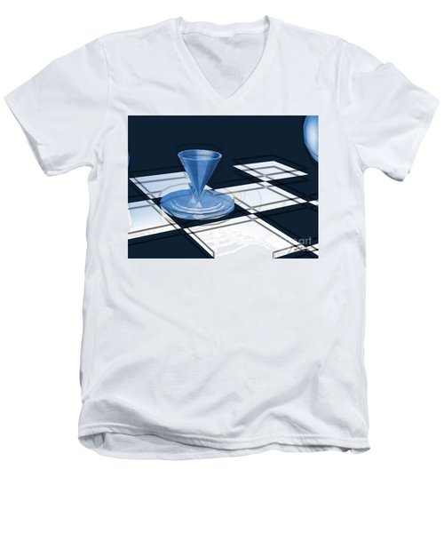 The Last Chess Pawn Men's V-Neck T-Shirt