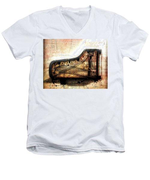 The Last Sonata Men's V-Neck T-Shirt