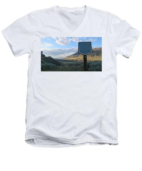The Last Spike Men's V-Neck T-Shirt
