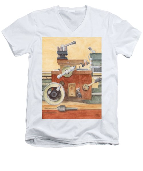 The Lathe Men's V-Neck T-Shirt