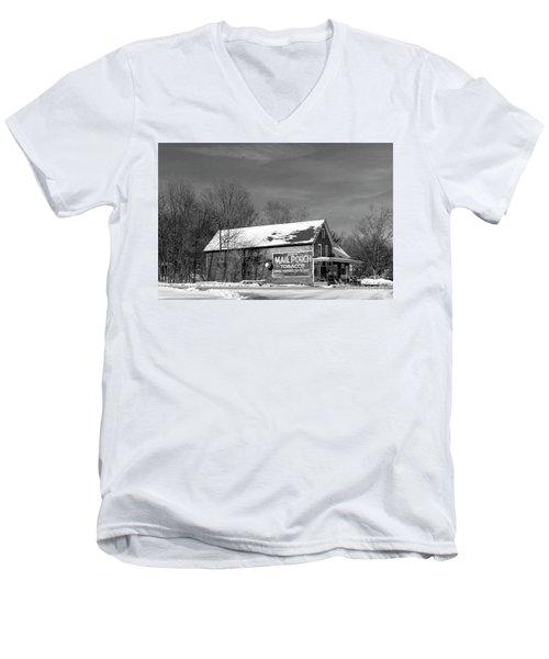 The Layton Country Store Men's V-Neck T-Shirt by Nicki McManus