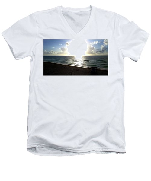 The Light Men's V-Neck T-Shirt